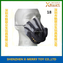X-MERRY Realistic Mouth And Nose Zebra Lower Half Face Mask Special Theme Party Accessory Adults Fancy Dress