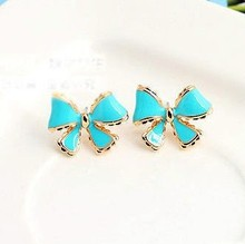 Popular Bowknot Earrings Design Fashion Earrings Jewelry