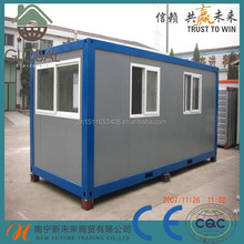 20ft new design prefabricated modern container house for China supplier