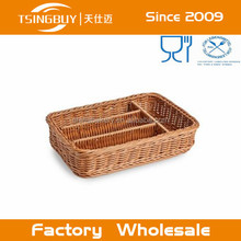 Solid PP Rattan Cutlery Basket By Handmade