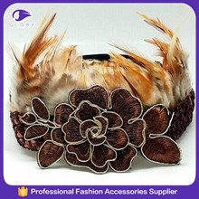 Hign quality fashion indian feather headband
