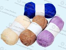 tejer hilos de colores