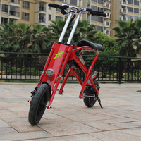 Adult electric bike cheap folding 2 wheel personal transport vehicle