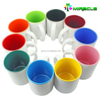 11oz Promotional blank sublimation Printing Coffee Mugs