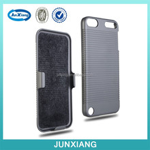 China supplier swivel belt clip case for ipod touch 5 with rotating stand