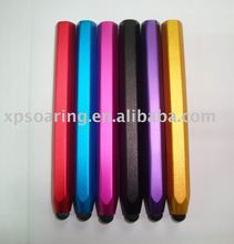 Alloy fashion touch pen for iphone 3G, 4G, ipad ipod
