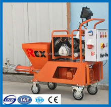 High Efficient N2 Plaster Mortar Cement Putty Spraying Machine
