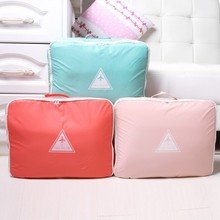 New arrival high quality travel waterproof baggage shape storage bag