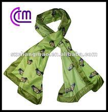 long style fashion silk scarf