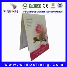 Pop Up Beautiful A4 Handmade Wedding Invitation Card Paper