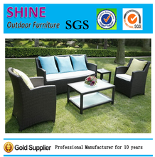 Modern Conversation Outdoor Furniture Rattan Sofa Set