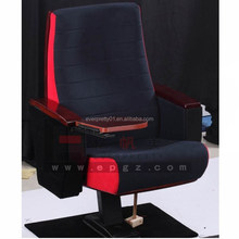 Hall Seating Foldable Auditorium Chair Fabric Theater Chair Church Furniture Seating