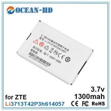 Li3713T42P3h614057 for ZTE rechargeable li-polymer 1300mah 3.7v battery