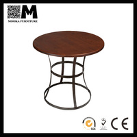 industrial table with steel legs antique french round dining table for sale