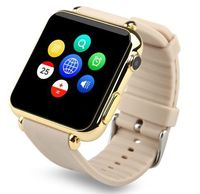 Surf the internet metal steel smart watch mobile phone cheap wholesale