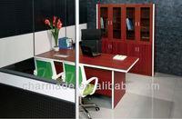 M4 manager office table design / aluminum executive office desk/office furniture desk