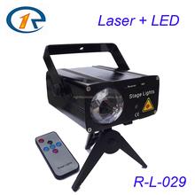Multi patterns full color animation LED laser light