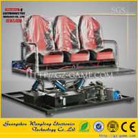 6 Seats 3d 4d 5d motion seat cinema mini 5D Cinema/The most Hot Sale 3d 4d 5d Motion Seat Cinema
