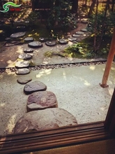Natural decoration outdoor slate stepping stones