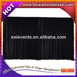 ESI mobile black wall drapery for wedding backdrop