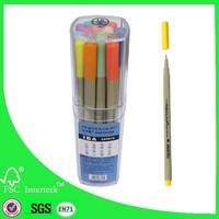Artist triangle fineliner pen set 16pcs/set