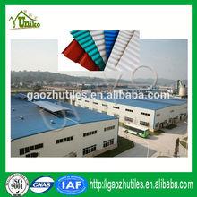 Prodotti tetto, asa plastica di copertura in pvc, ondulato tegola pvc per il capannone