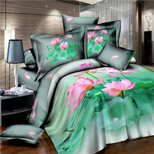100% cotton new 3D comforter sets / bed sheet / bedcover / duvet cover / pillow cover / manufacture