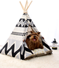 New dog pet teepee tent pet house carrier tent for dog pet indoor dog tent