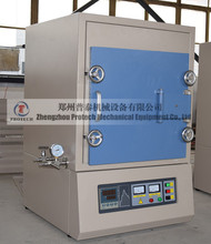 Programmable box atmosphere furnace heat treatment protective gas furnace