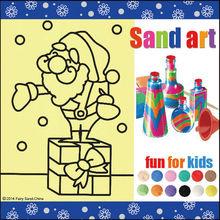 promotional gift toys for kids sand art