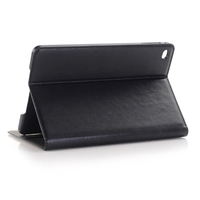 2015 New Products Crazy Horse Texture Leather Cover for iPad mini 4 Case with Sleep / Wake-up Function
