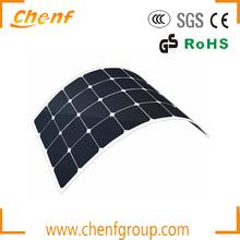 75W Sunpower Flexible Solar Panel,Semi Flexible Solar Panel For Marine Use