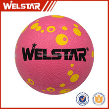 Novelty competition rubber children toys basketballs