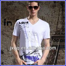 2012 latest fashion men casual shirts 100% cotton men fancy t shirt