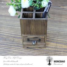 HONGDAO Christmas custom-made wooden crafts, card box, color baking wooden pen box