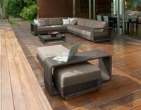 Durable outdoor furniture rattan sofa 535