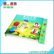 low price children sound book & reading pen on demand