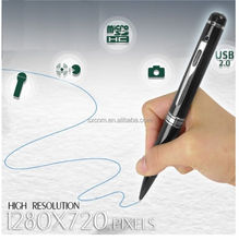 16GB HD Digital Audio Video Camera 720P Spy Pen with 1280 x 720p High Resolution