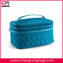 Fashion travel Two-Step Cosmetic Pouch with zip fastening /Journey Toilet bags/wash bag