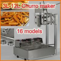 2015 New Design 3L-12L Stainless Steel churro machine and fryer Churros Machine,churros machine and fryer,churros machine