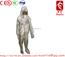 2015 New Product Aluminized Aluminum Fire Suits from Manufacturer