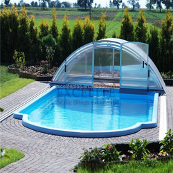 Hot sell Polycarbonate Swimming pool cover