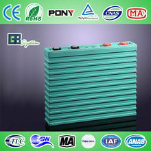 400Ah rechargeable lithium ion car battery for energy storage GBS-LFP400Ah
