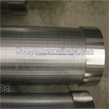 Stainless steel cage type V-wire wound screen pipes for water well