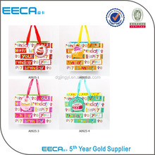 Fashion recycled bag/family shopping bag/reversible bag in China