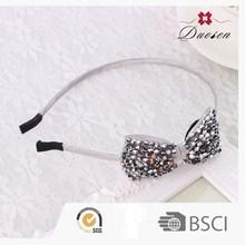 Good-Looking Cheerleading Hair Bows With Diamond Headdress