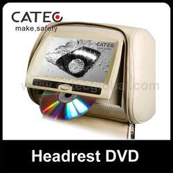 Special vw passat headrest dvd player for seatback entainment system