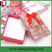 jewelry earrings necklace ring packing box hard cover paper package box Birthday gift box package