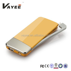 New design colorful 5500mah portable cell phone battery charger