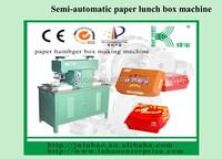 Take Away Hamburger Lunch Carton Box Making Machine Prices